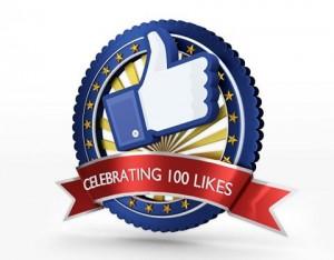 100 MI PIACE su Facebook